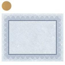 Certificats St.James™ Paquet de 25 bleu