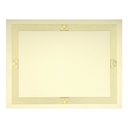 St.James™ Elite Gold Foil Stamped Certificates