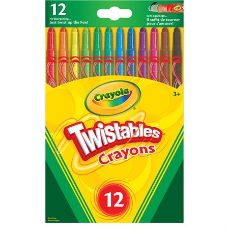 Crayons de cire Twistable®