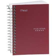 Cahier à reliure spirale Five Star®