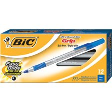 Round Stic™ Grip Ballpoint Pens Medium point blue