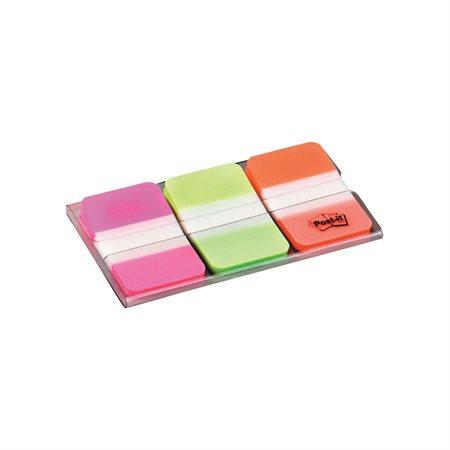 Onglets durables Post-it® rose, vert, orange
