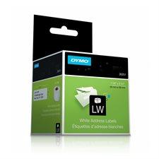 """Étiquettes d'adresse pour imprimantes LabelWriter® 1-1/8 x 3-1/2"""" (2 roul. de 130)"""