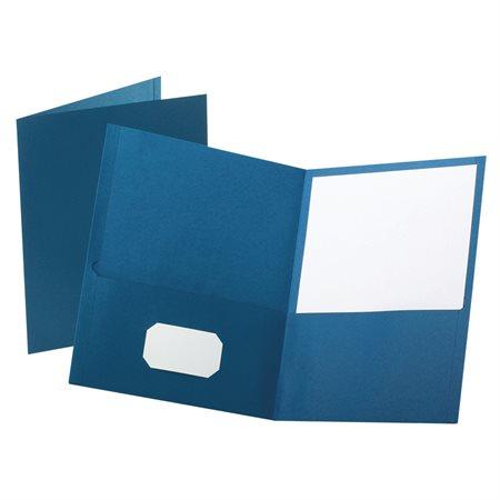 Couverture de présentation À l'unité bleu foncé