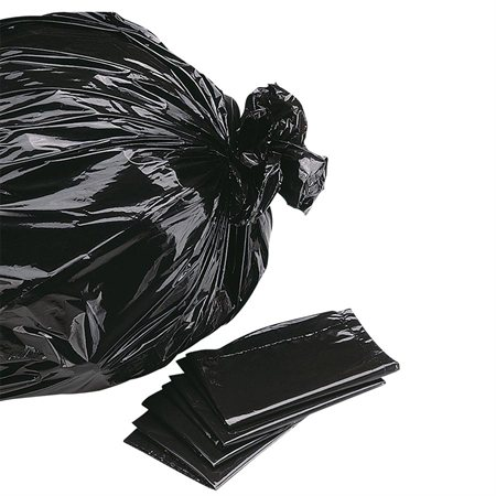 "Garbage Bags 26 x 36"". Regular. Box of 200. black"