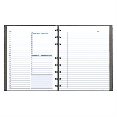 NotePro® Daily Undated Planner
