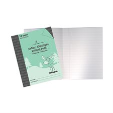 Cahier d'exercices vert