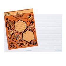 Cahier d'exercices orange