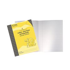 Cahier d'exercices jaune