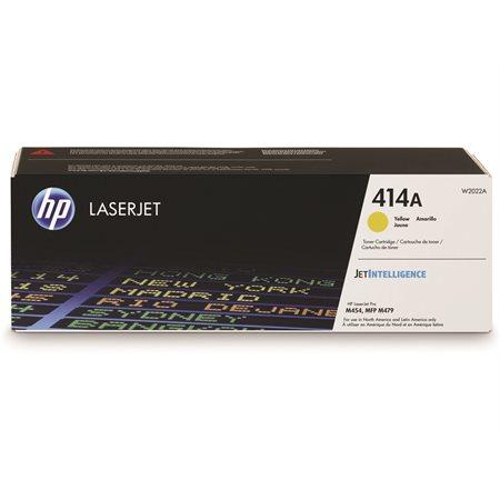Cartouche de toner HP 414A jaune