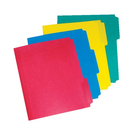 File Folders Letter size assorted colours
