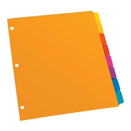 Poly Plain Tab Dividers