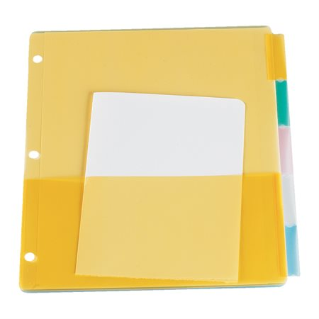 Poly Insertable Tab Dividers