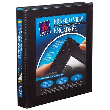 Framed View Presentation Binder