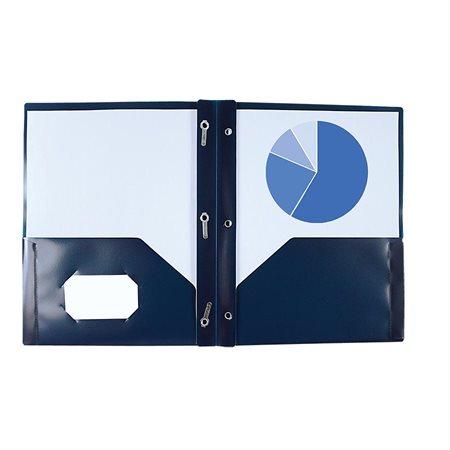 Couverture de présentation Poly Tang bleu foncé