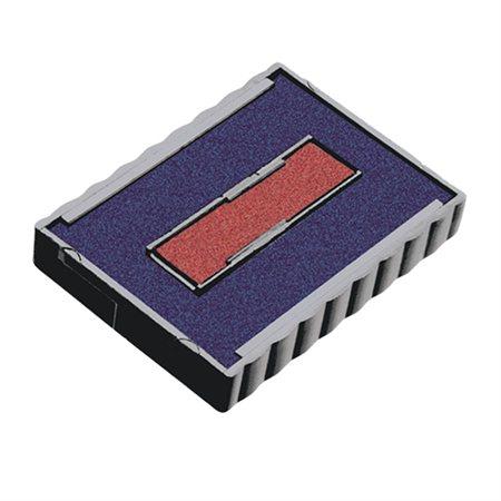 Cassette encrage Printy Dater 4750 bleu-rouge