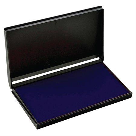 "Felt ink pad #2 - 3-1 / 2 x 6-3 / 8"" blue"