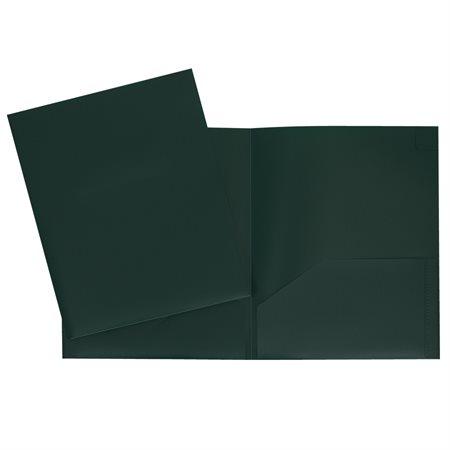 Couverture de présentation vert