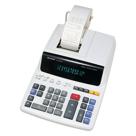 EL-2607RIII Printing Calculator