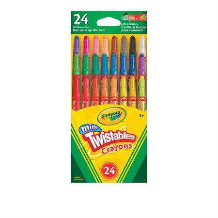 Crayons de cire Mini-Twistables