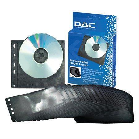Pochette double pour CD / DVD