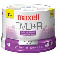 Disque DVD+R inscriptible 16x