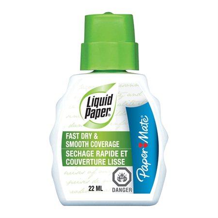 Liquide correcteur blanc sechage rapide et couverture lisse
