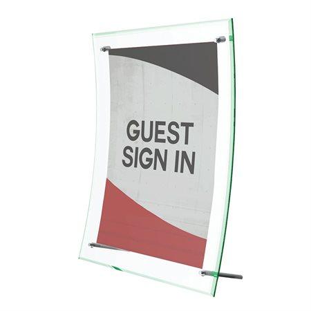 Porte-affiche courbé Superior Image