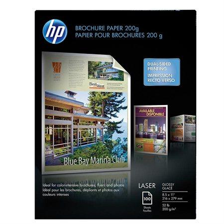 Papier glacé pour brochures