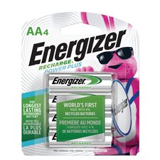 Piles rechargeables Recharge® 4 x AA