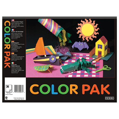 Color Pak Construction Paper