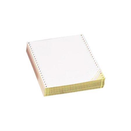 """Papier informatique 9-1 / 2 x 11"""", perforations verticales, 3 copies couleur, 28M. uni NCR (1150)"""