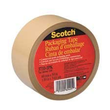 Ruban d'emballage Scotch® A l'unité, 100 m. tan