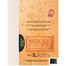 Papier Antique Bond Paquet de 400 vieilli