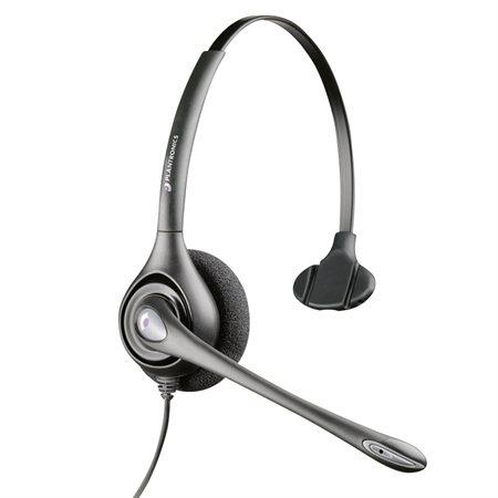 Casque d'écoute SupraPlus HW251  /  HW261 HW251N. Écouteur monophonique. Microphone réducteu