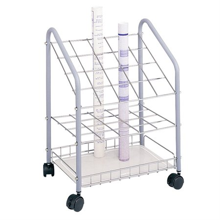 "Plan mobile file 20 compartments, 2-3 / 4 x 2-3 / 4""."