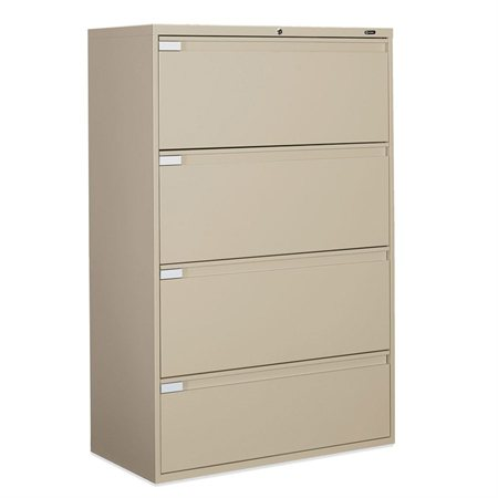 Fileworks® 9300 Plus Lateral Filing Cabinets 4 drawers beige
