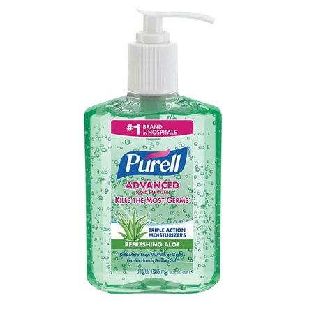 Purell® Hand Sanitizer With aloe 8 oz
