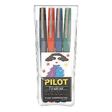 Permanent Fineliner Marker Package of 4 assorted markers