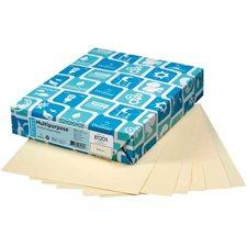"""Papier de couleur à usages multiples EarthChoice® Formal légal - 8-1/2 x 14"""" ivoire"""