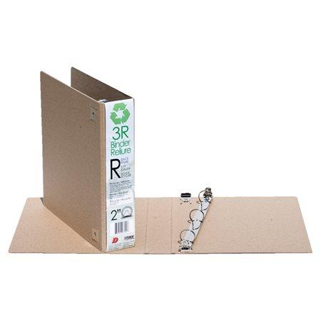 Reliure en carton recyclé 3R