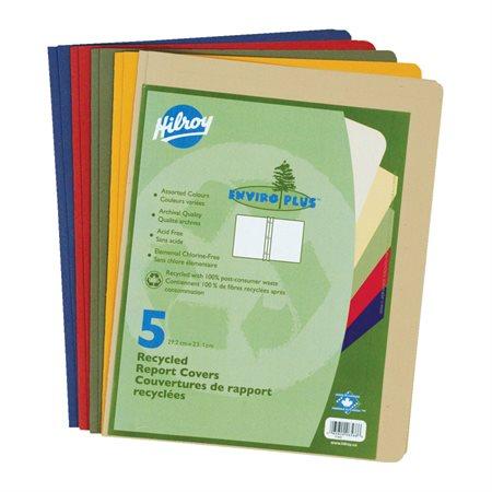 Couverture de présentation Enviro Plus Paquet de 5 couleurs variées