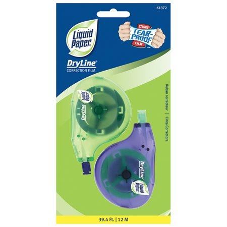 Ruban correcteur Dryline® Paquet de 2