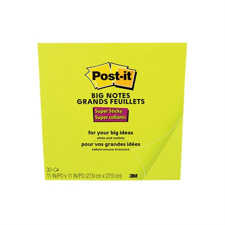 Post-it® Self-Adhesive Big Notes