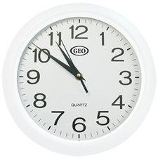 Horloge murale blanc