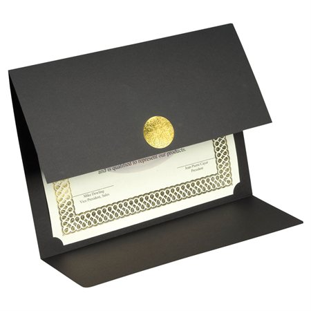 St.James™ Elite Medallion Fold Certificate Holder