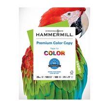 Papier Hammermill Color Copy Digital 28 lb Boîte de 2500 (5 paquets de 500) lettre