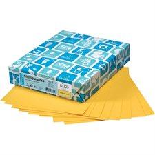 """Papier de couleur à usages multiples EarthChoice® Formal légal - 8-1/2 x 14"""" verge d'or"""