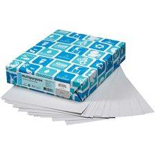"""Papier couverture à usage multiples EarthChoice® Bristol Format lettre, 8-1/2 x 11"""" gris"""