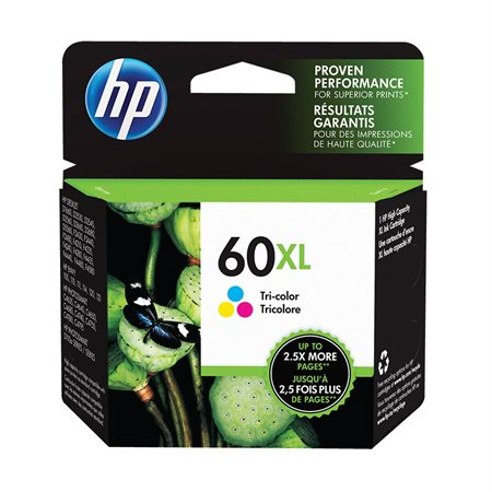 HP 60XL High Yield Ink Jet Cartridge